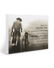 Thank you dad 20x16 Gallery Wrapped Canvas Prints front