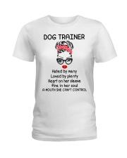 Dog Trainer Ladies T-Shirt front