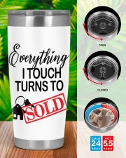 Everything i touch turn to sold 20oz Tumbler aos-20oz-tumbler-lifestyle-front-46
