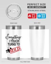 Everything i touch turn to sold 20oz Tumbler aos-20oz-tumbler-lifestyle-front-60