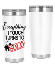 Everything i touch turn to sold 20oz Tumbler front