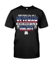 Veteran Daddy Classic T-Shirt front