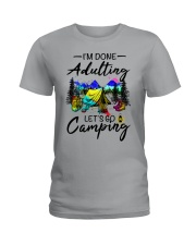 Adulting Ladies T-Shirt front