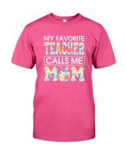 TEACHER MOTHER Classic T-Shirt front