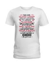 Ohio Ladies T-Shirt front
