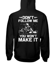 Kart Racing Hooded Sweatshirt back