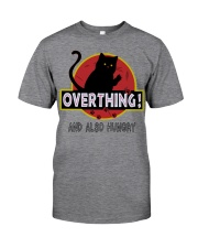 Cat overthinking Classic T-Shirt front