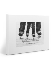 Thank you dad - Hockey 20x16 Gallery Wrapped Canvas Prints front