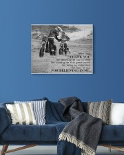 Thank you dad - Biker Dad 20x16 Gallery Wrapped Canvas Prints aos-canvas-pgw-20x16-lifestyle-front-06