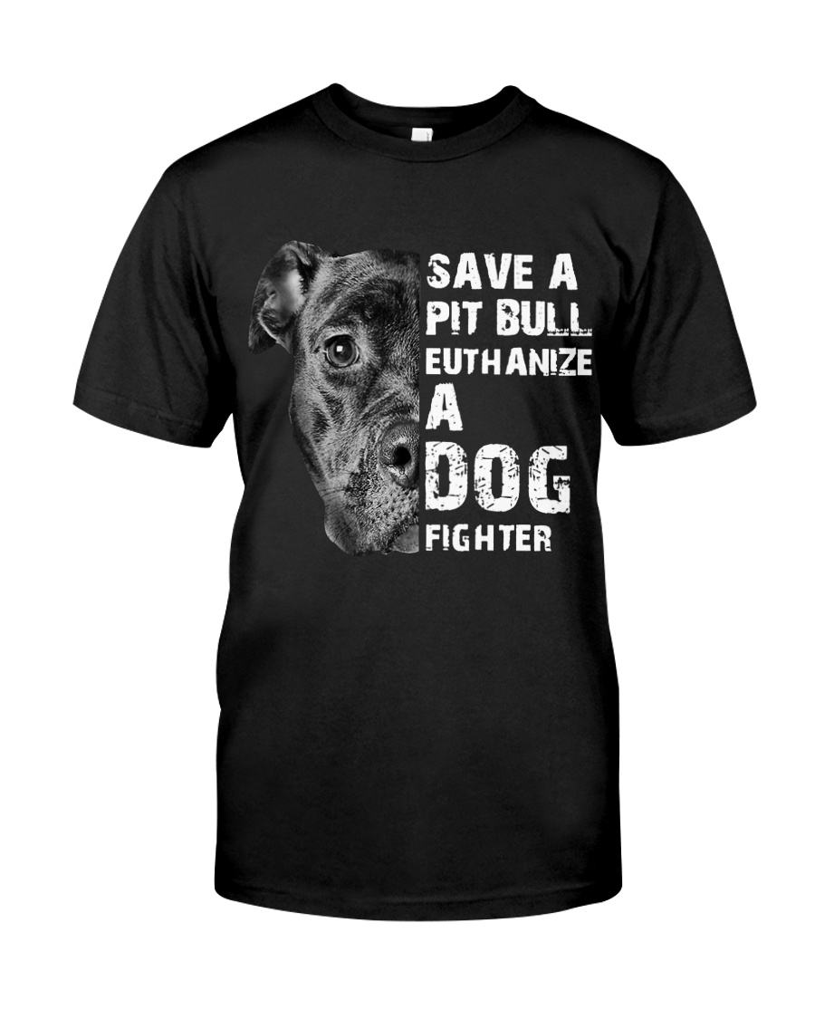 Save A Pit Bull - Style 1 Classic T-Shirt