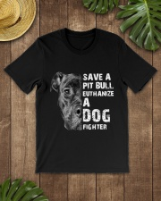Save A Pit Bull - Style 1 Classic T-Shirt lifestyle-mens-crewneck-front-18