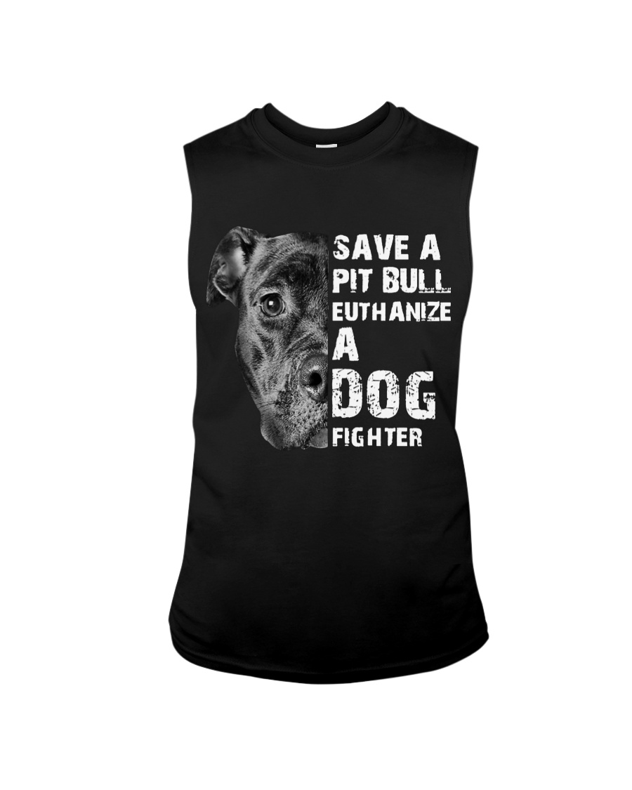 Save A Pit Bull - Style 1 Sleeveless Tee