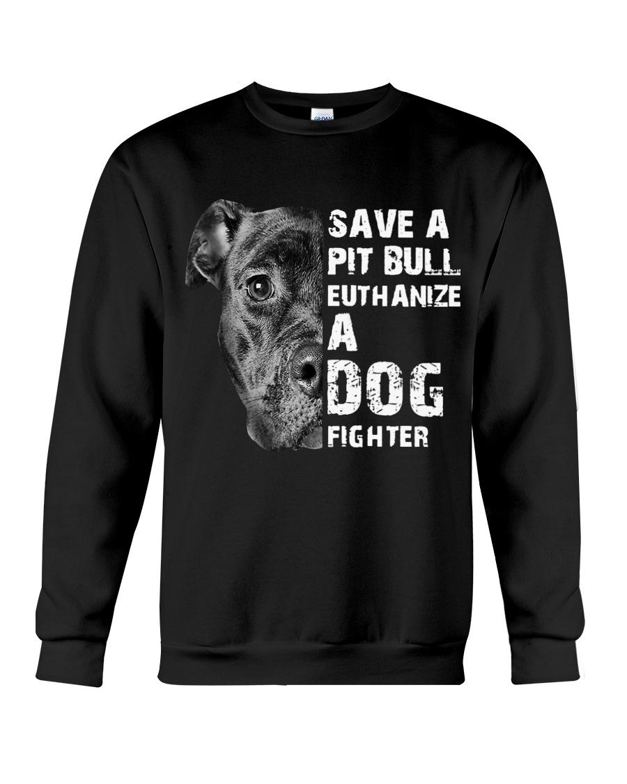 Save A Pit Bull - Style 1 Crewneck Sweatshirt
