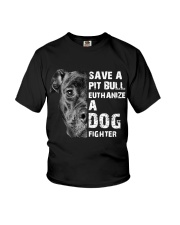 Save A Pit Bull - Style 1 Youth T-Shirt thumbnail