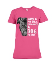 Save A Pit Bull - Style 1 Premium Fit Ladies Tee thumbnail