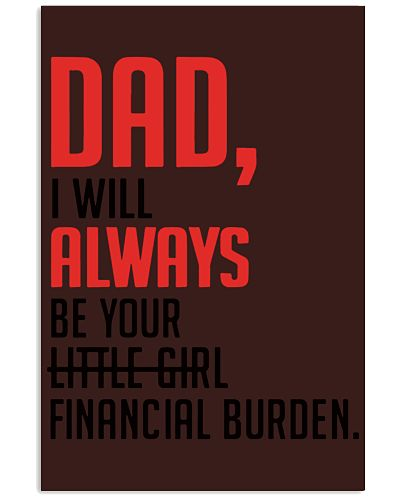 Dad I will always be your little girl financial