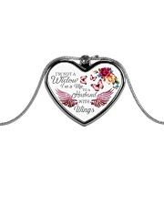 Best Version 140120 Metallic Heart Necklace front