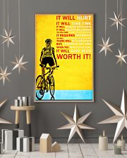 Bicycle it will hurt it will take time poster 11x17 Poster lifestyle-holiday-poster-1