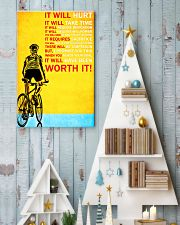 Bicycle it will hurt it will take time poster 11x17 Poster lifestyle-holiday-poster-2