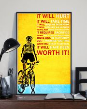 Bicycle it will hurt it will take time poster 11x17 Poster lifestyle-poster-2