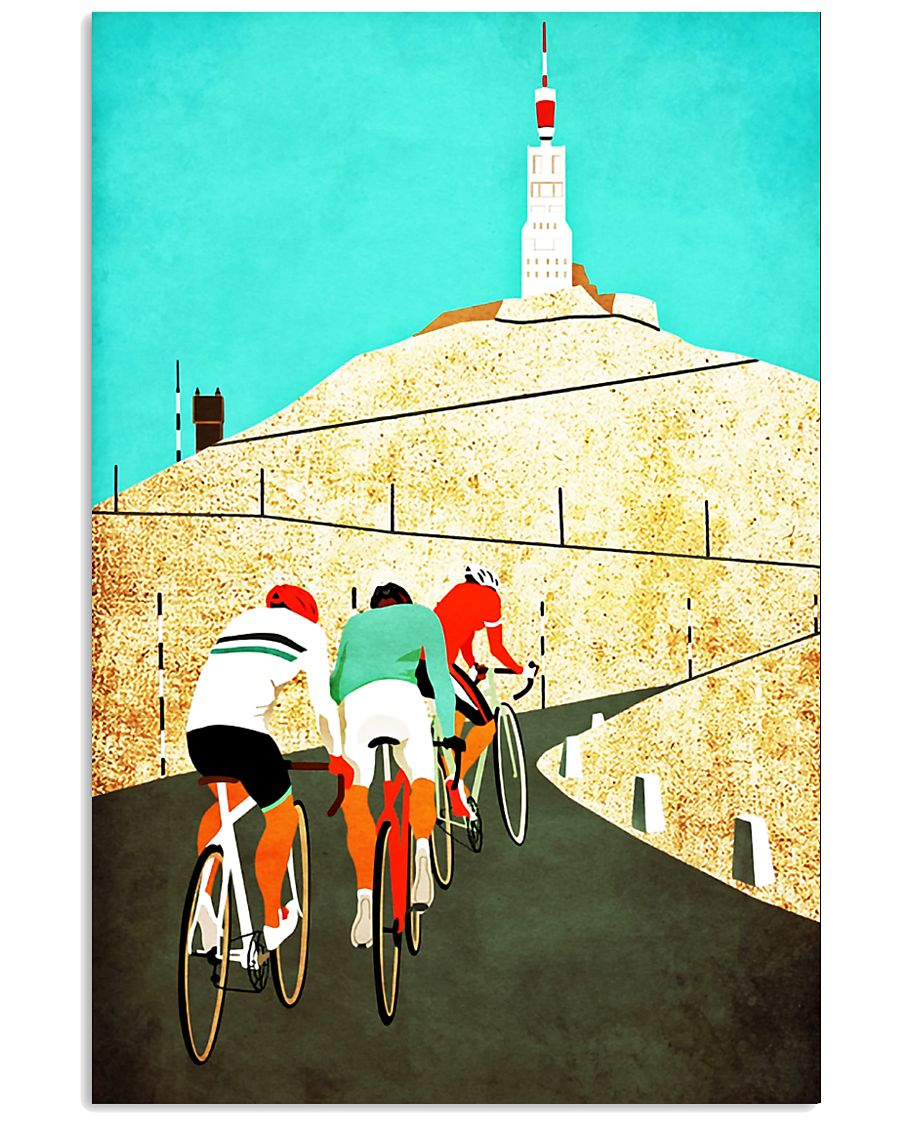 Mount ventoux road cycling poster 11x17 Poster