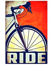 Bicycle ride poster 11x17 Poster front
