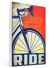 Bicycle ride poster Gallery Wrapped Canvas Prints tile