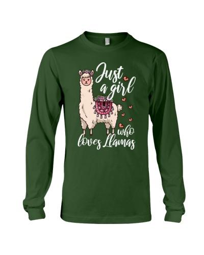 Just A Girl Who Loves Llamas