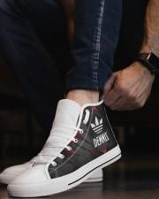 TCH11AF01 DENNIS Men's High Top White Shoes aos-complex-men-white-top-shoes-lifestyle-08
