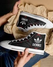 TCH11AF01 DENNIS Men's High Top White Shoes aos-complex-men-white-top-shoes-lifestyle-10