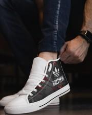 TCH11AF01 BALDWIN Men's High Top White Shoes aos-complex-men-white-top-shoes-lifestyle-08