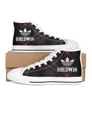 TCH11AF01 BALDWIN Women's High Top White Shoes thumbnail