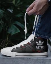 TCH11AF01 BATES Men's High Top White Shoes aos-complex-men-white-top-shoes-lifestyle-06