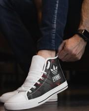 TCH11AF01 EVANS Men's High Top White Shoes aos-complex-men-white-top-shoes-lifestyle-08