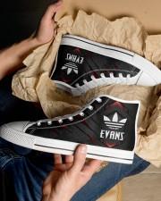 TCH11AF01 EVANS Men's High Top White Shoes aos-complex-men-white-top-shoes-lifestyle-10