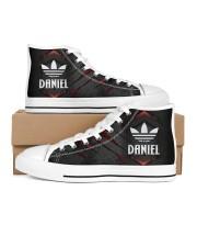 TCH11AF01 DANIEL Women's High Top White Shoes thumbnail