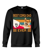 Best Corgi Dad Ever Crewneck Sweatshirt thumbnail