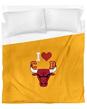 Cover for your best team CHICAGO BULLS Duvet Cover - Queen front