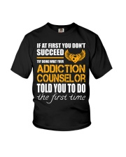 STICKER ADDICTION COUNSELOR Youth T-Shirt thumbnail