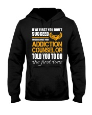 STICKER ADDICTION COUNSELOR Hooded Sweatshirt thumbnail