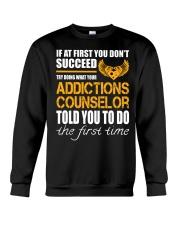 STICKER ADDICTIONS COUNSELOR Crewneck Sweatshirt thumbnail