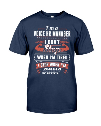 CLOTHES VOICE HR MANAGER