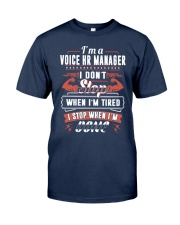 CLOTHES VOICE HR MANAGER Classic T-Shirt front