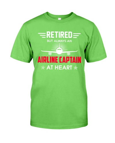 Retired Airline Captain Shirt Pilot Retirement
