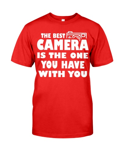 The Best Camera Is The One You Have With T-Shirts