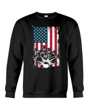 Bowling T-Shirts American Flag Special Gift  Crewneck Sweatshirt thumbnail