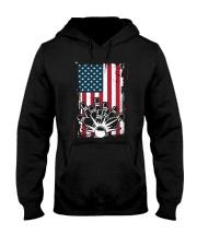 Bowling T-Shirts American Flag Special Gift  Hooded Sweatshirt thumbnail