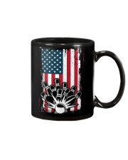Bowling T-Shirts American Flag Special Gift  Mug thumbnail