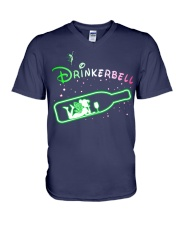 Drinkerbell V-Neck T-Shirt thumbnail