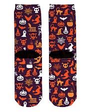 Halloween Socks Crew Length Socks back